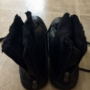 Blowfish Shoes - Blowfish Black Zipper Ankle Boots Size 9